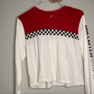 Hollister Long Sleeved Cropped Top